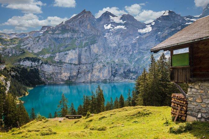 capitulos são casas imaginárias como uma cabana no lago